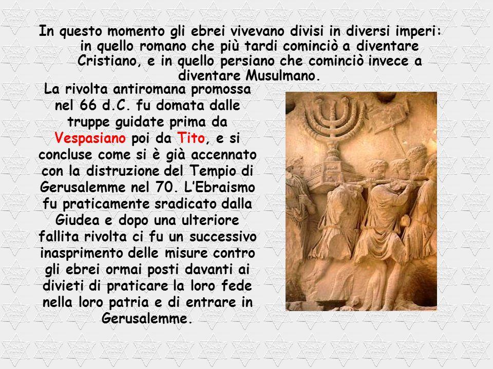 Il famoso Muro del pianto che attualmente rappresenta il monumento più significativo degli ebrei, era un muro della spianata sulla quale sorgeva il Tempio ricostruito e sulla quale si trova attualmente la moschea La splendente dove, secondo la tradizione islamica, Maometto sarebbe asceso al cielo.