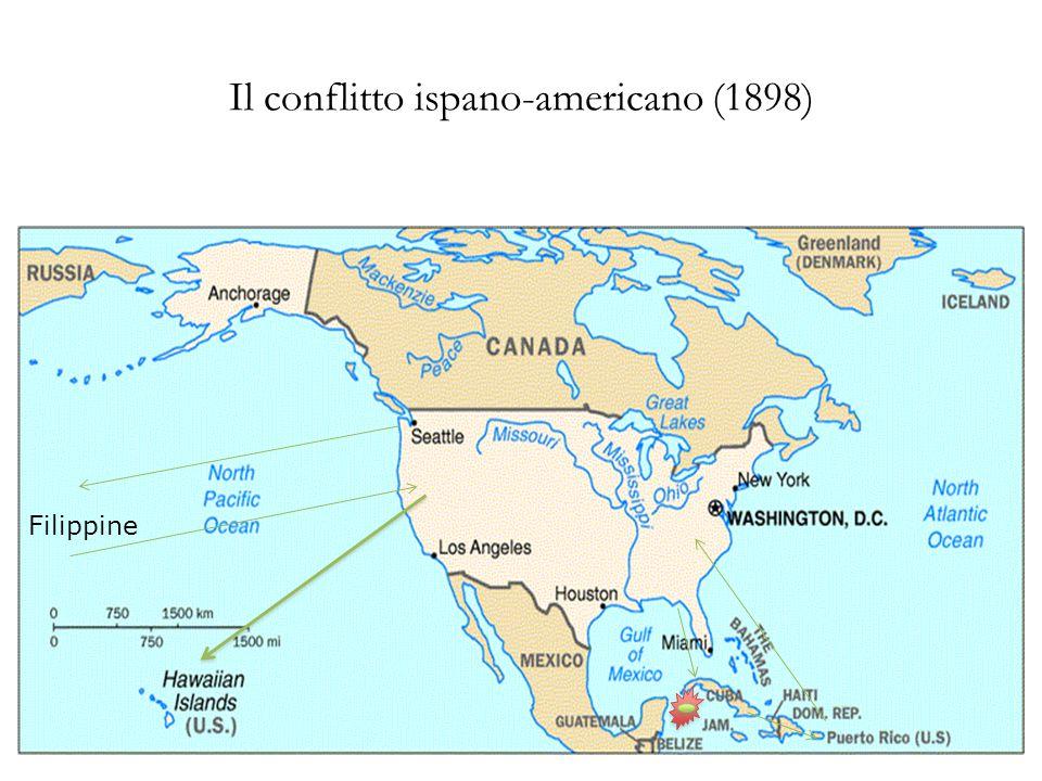 Il conflitto ispano-americano (1898) Filippine
