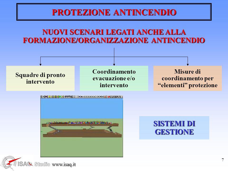 www.isaq.it 8 PROTEZIONE ANTINCENDIO