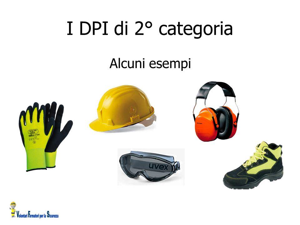 I DPI di 2° categoria