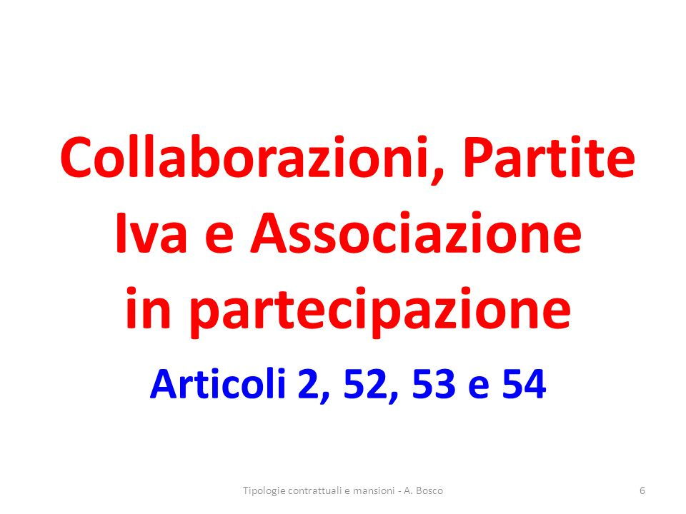 Apprendistato ART.47, co.