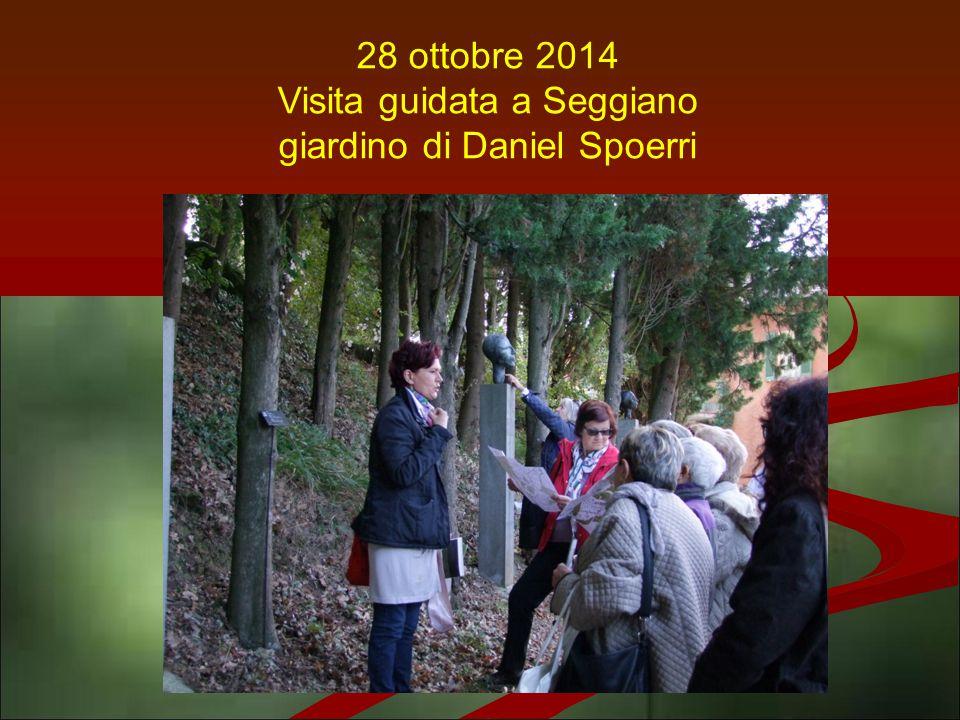 28 ottobre 2014 Visita guidata a Seggiano giardino di Daniel Spoerri