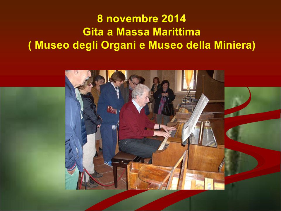 22 novembre 2014 Gita a Massaciuccoli