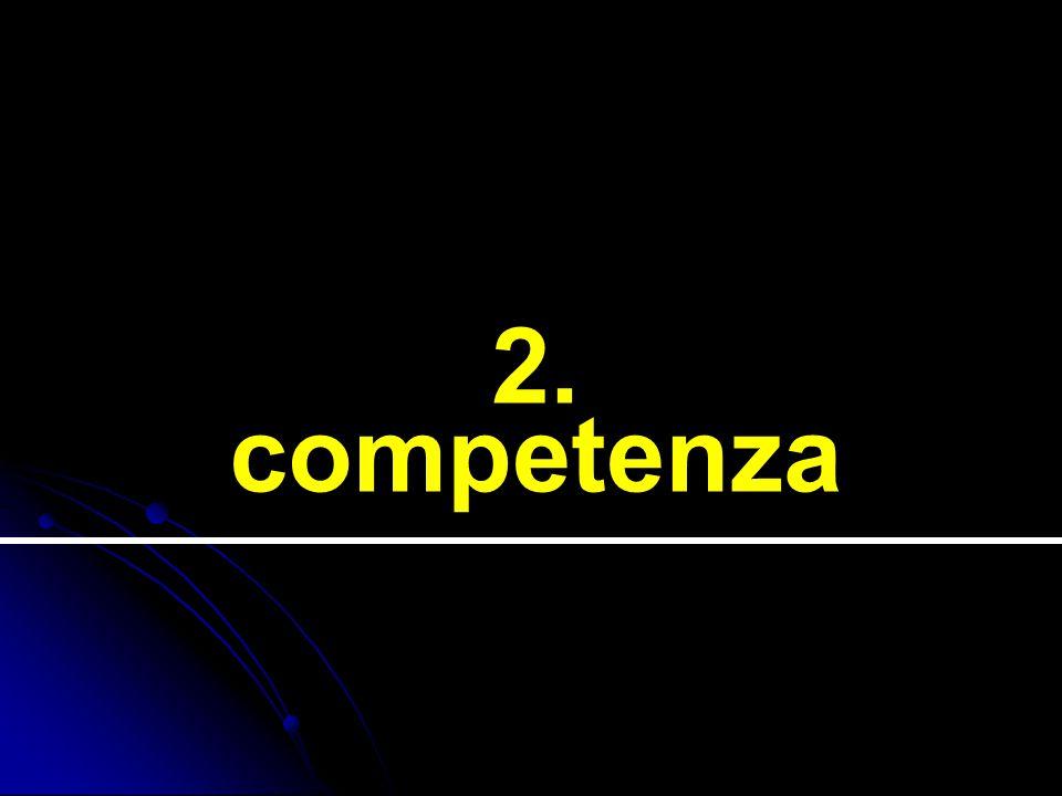 2. competenza