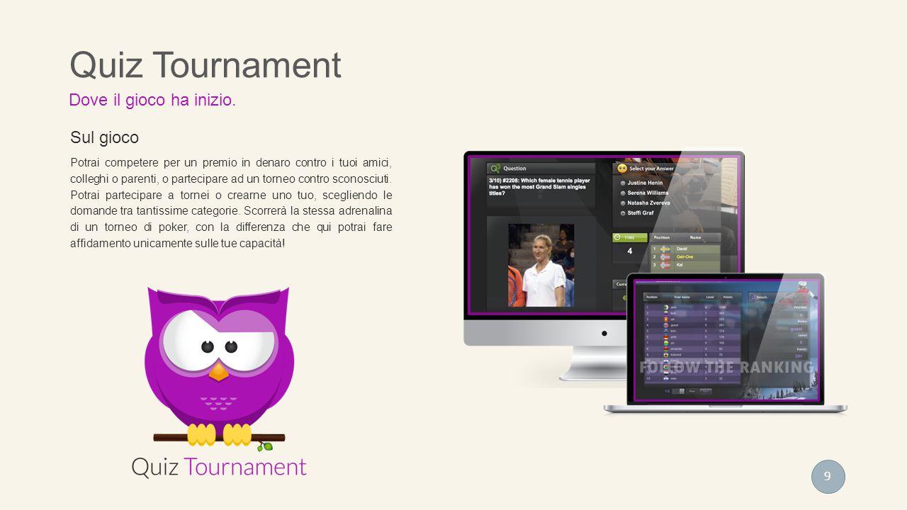 Sul gioco Potrai competere per un premio in denaro contro i tuoi amici, colleghi o parenti, o partecipare ad un torneo contro sconosciuti. Potrai part
