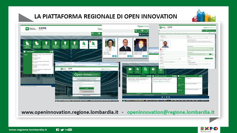 www.openinnovation.regione.lombardia.it - openinnovation@regione.lombardia.it