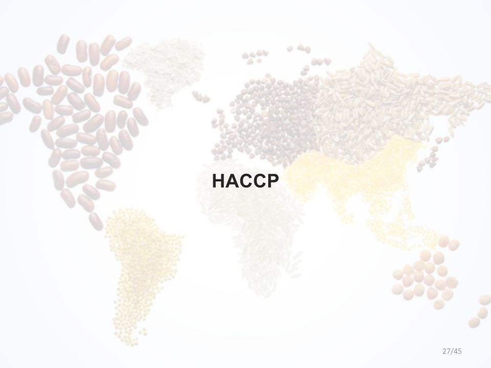 HACCP 27/45