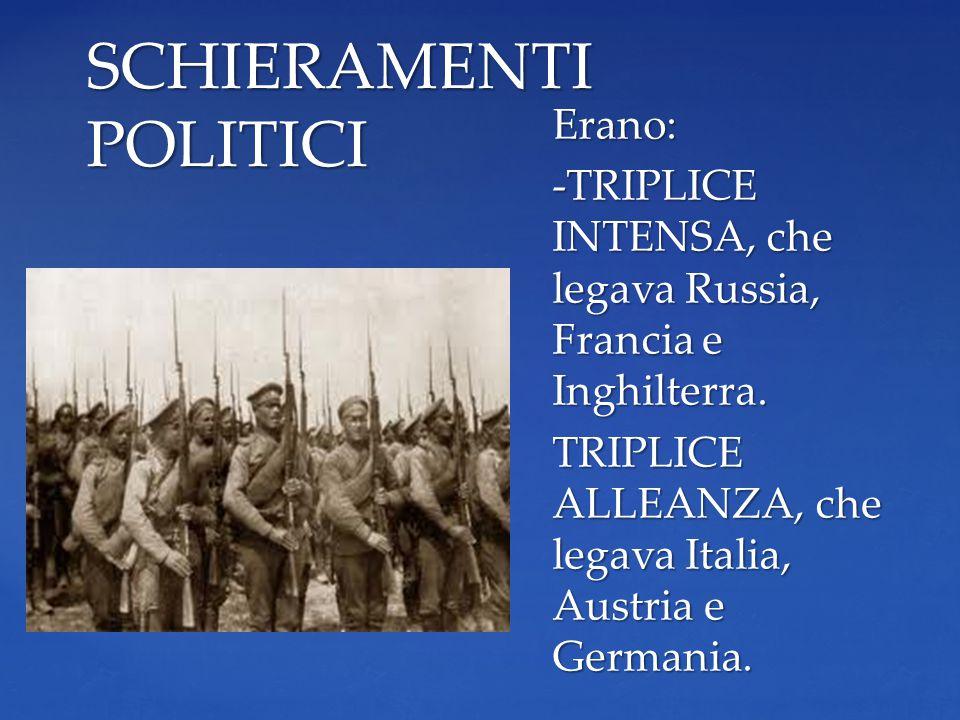 Il 28 giugno 1914 l'erede al trono dell'impero austriaco l'Arciduca Francesco Ferdinando, fu ucciso in un attentato a Sarajevo.