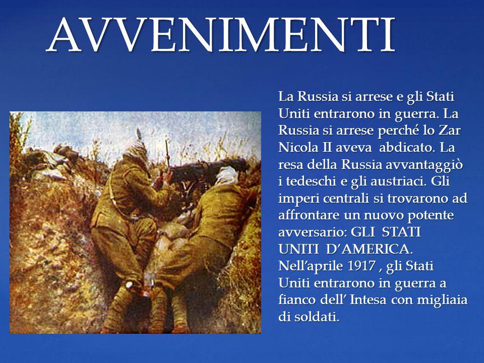 Il 1917 fu l'anno più drammatico anche sul fronte italiano.