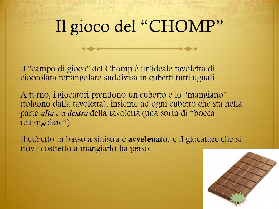 """Il gioco del """"CHOMP"""" Il"""