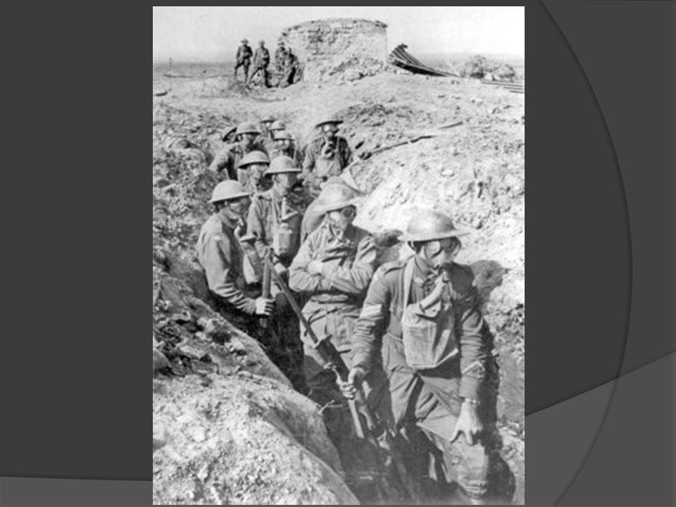 Feriti britannici per il gas, 55° Divisione, 10 aprile 1918