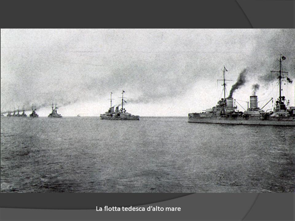 La flotta tedesca d'alto mare