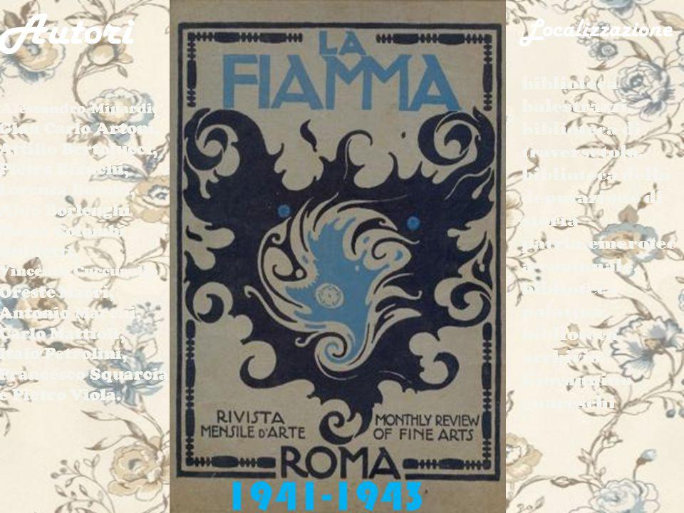 La rivista ospitò la polemica e pubblica dissociazione di Vinicio Paladini e Franco Rompa Rossi.