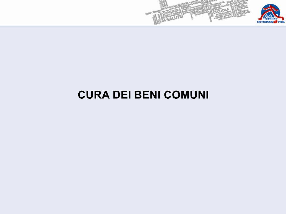 CURA DEI BENI COMUNI