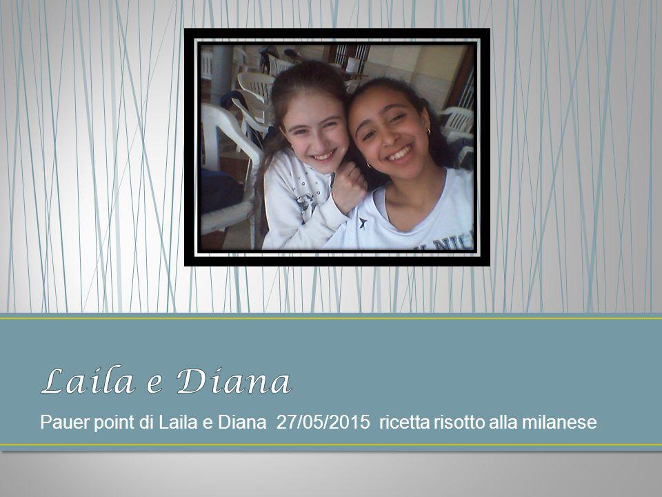 Pauer point di Laila e Diana 27/05/2015 ricetta risotto alla milanese