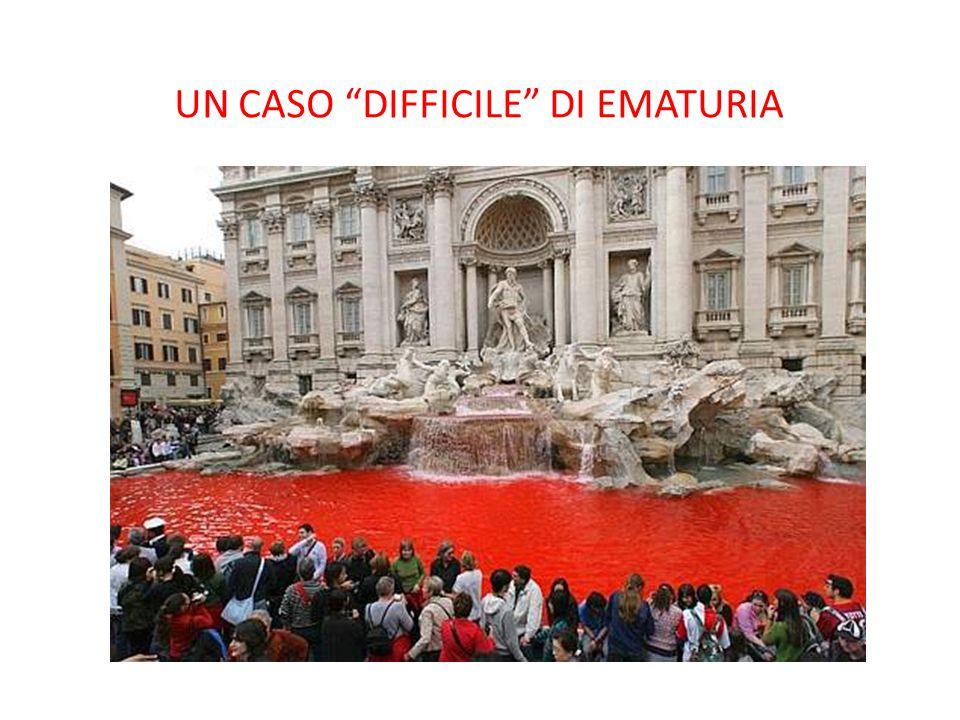 """UN CASO """"DIFFICILE"""" DI EMATURIA"""