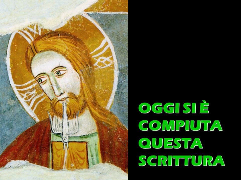 Matteo 3,1-12 OGGI SI È COMPIUTA QUESTA SCRITTURA
