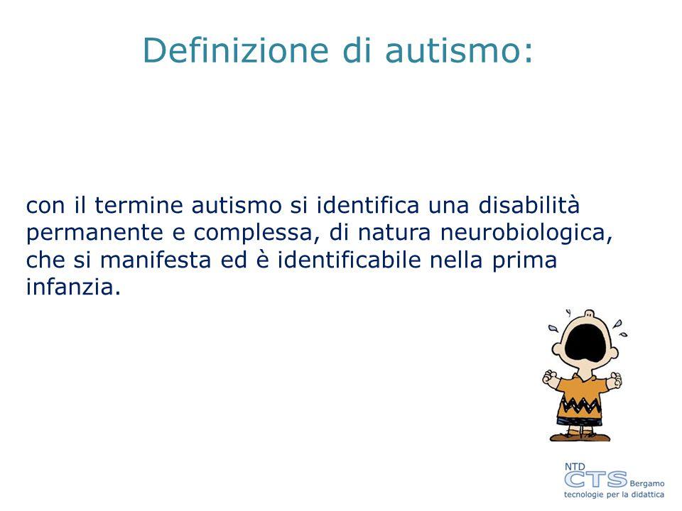 Bisogna ricordare che il bambino autistico tende ad associare l'apprendimento con una data situazione o ambiente, ha difficoltà a generalizzare il suo comportamento.