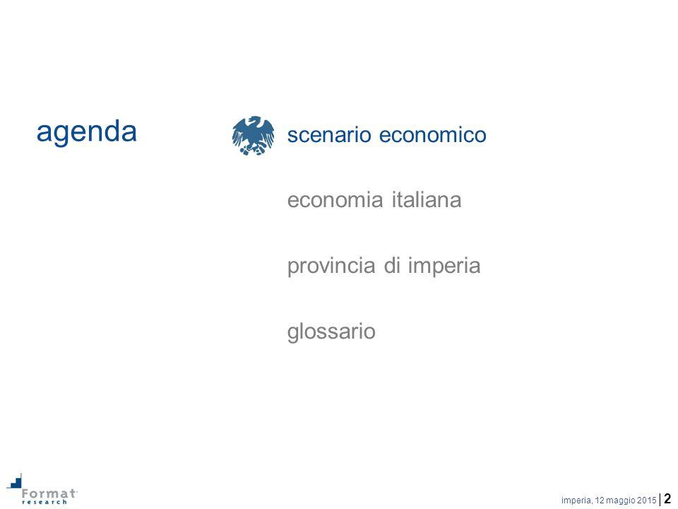 imperia, 12 maggio 2015 | 2 agenda scenario economico economia italiana provincia di imperia glossario