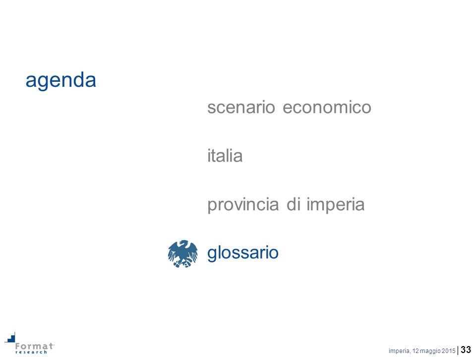 imperia, 12 maggio 2015 | 33 agenda scenario economico italia provincia di imperia glossario