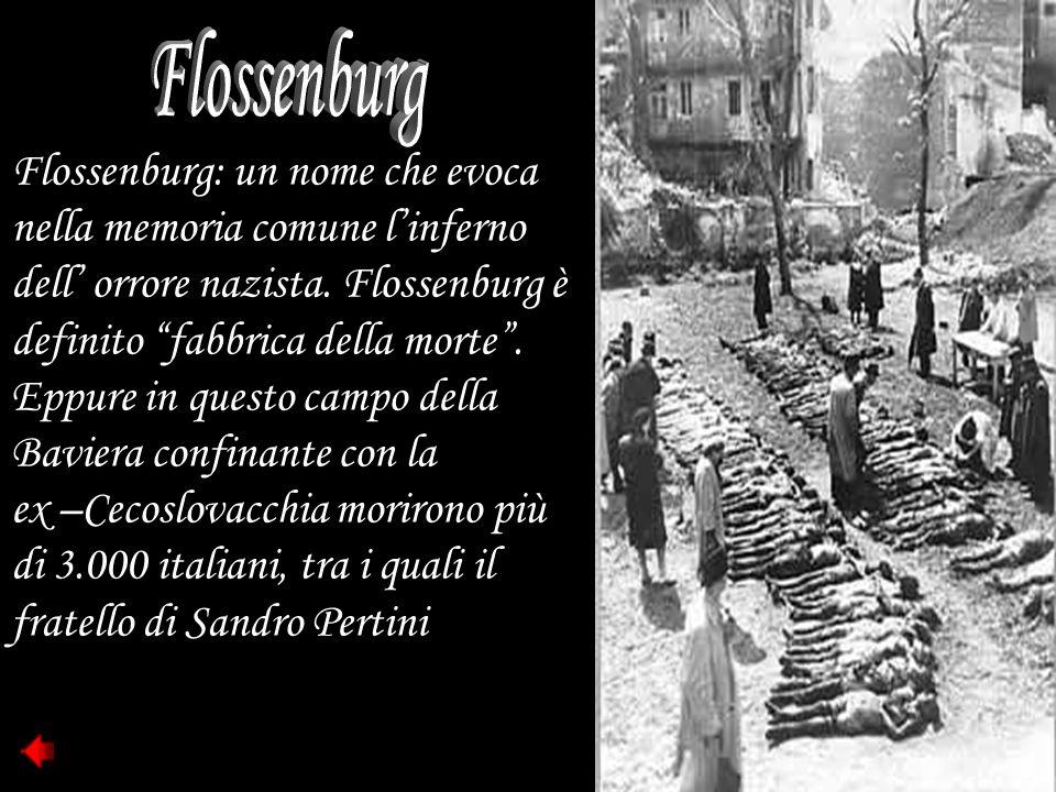 """Flossenburg: un nome che evoca nella memoria comune l'inferno dell' orrore nazista. Flossenburg è definito """"fabbrica della morte"""". Eppure in questo ca"""