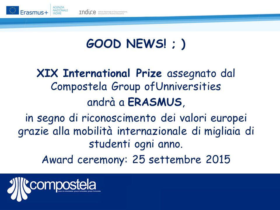 «Avvaletevi delle Associazioni Studentesche e Buon Erasmus a Tutti!» Grazie! @: a.ricci@indire.it