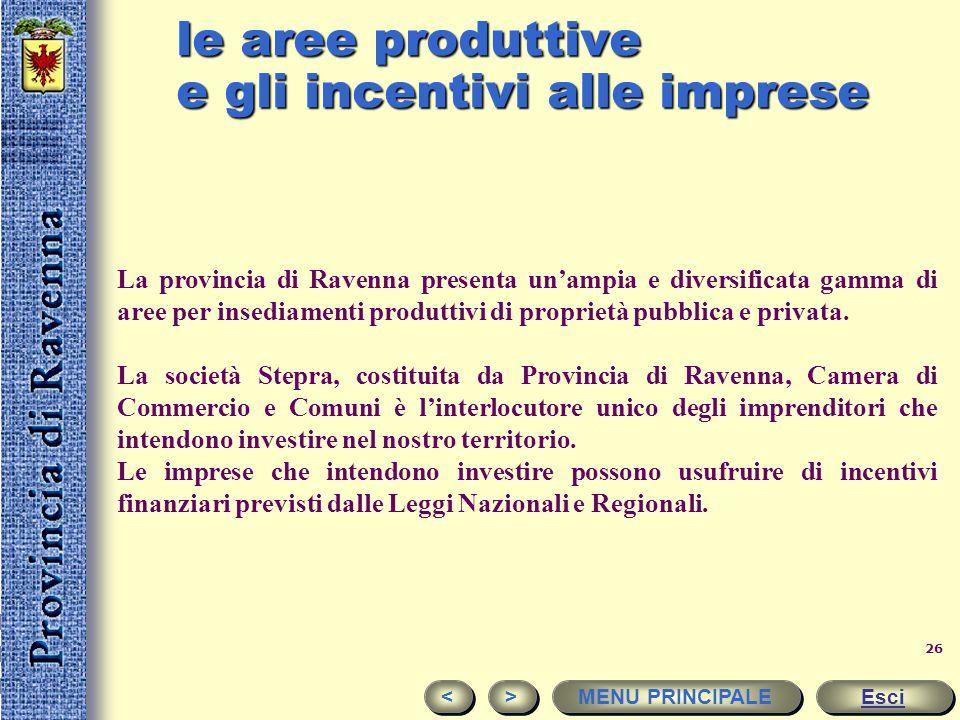 25 off-shore e polo energetico Ravenna è il maggiore centro italiano nel settore dell'estrazione del gas naturale. Un ruolo fondamentale nel settore è