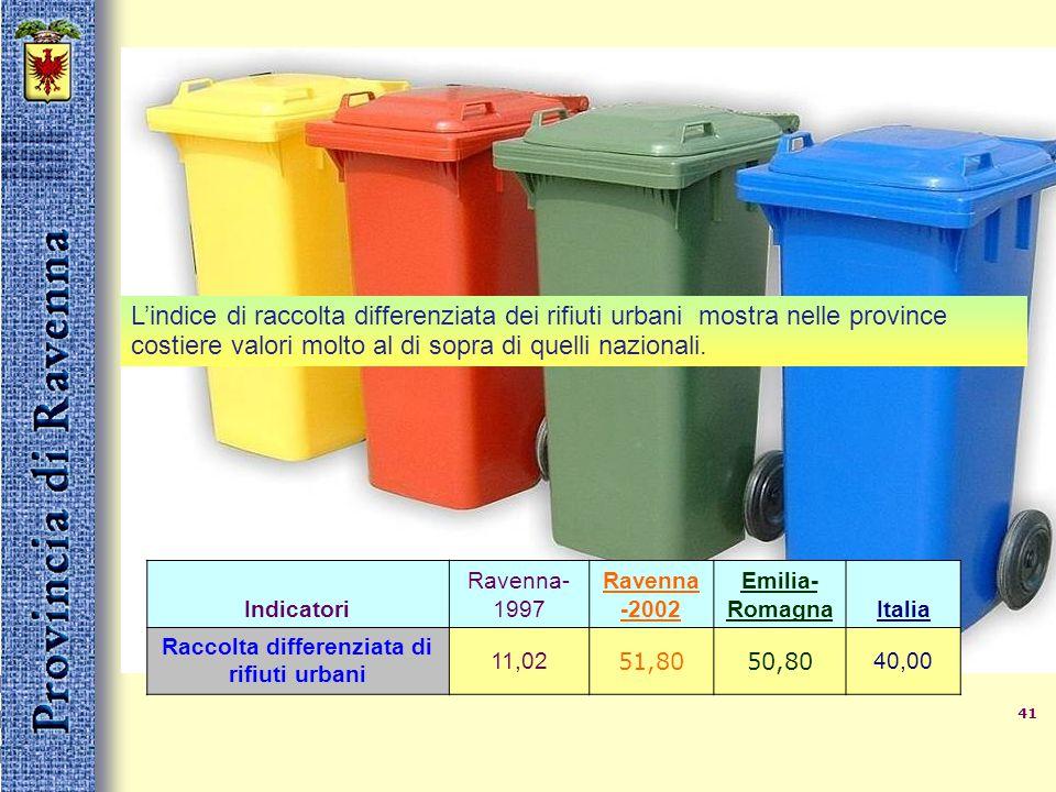 40ambiente La provincia di Ravenna ha importanti zone di pregio naturalistico, boschi, zone umide, zone gessose appenniniche. Queste zone sono un gran