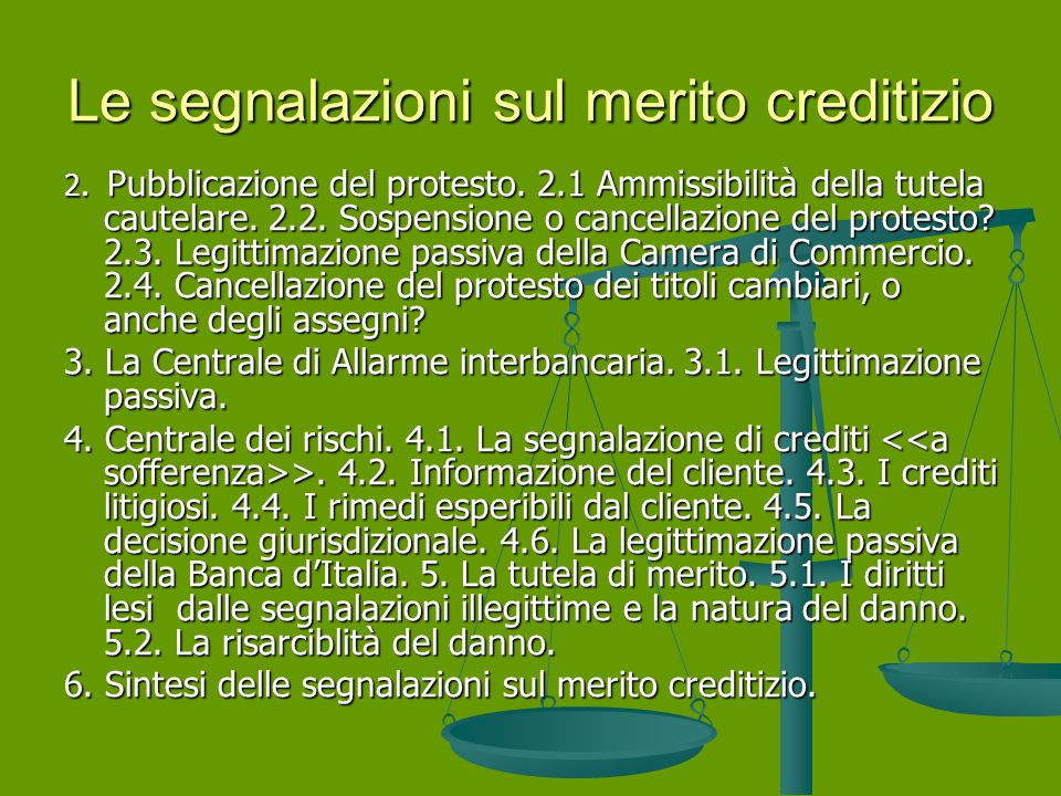 Parte Seconda – Il Contenzioso degli intermediari finanziari 1.