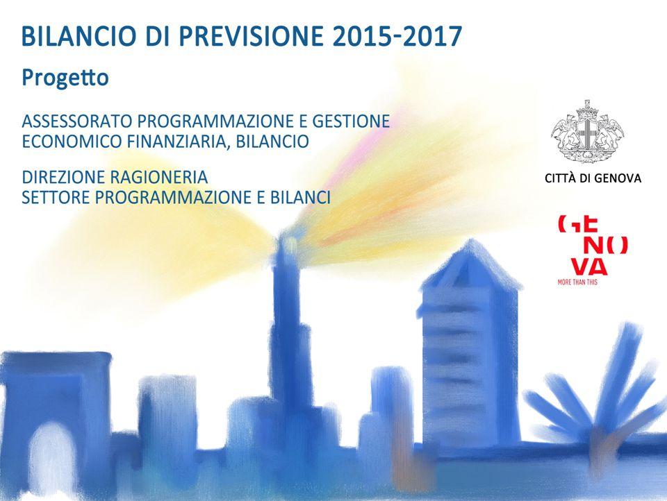 BILANCIO 2015 SPESE PER MISSIONE 12 ESCLUSO MISSIONE SERVIZI GENERALI