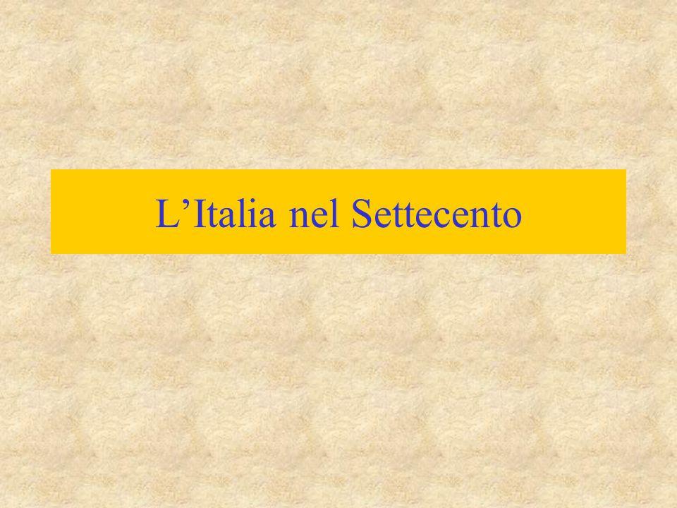L'Italia nel Settecento