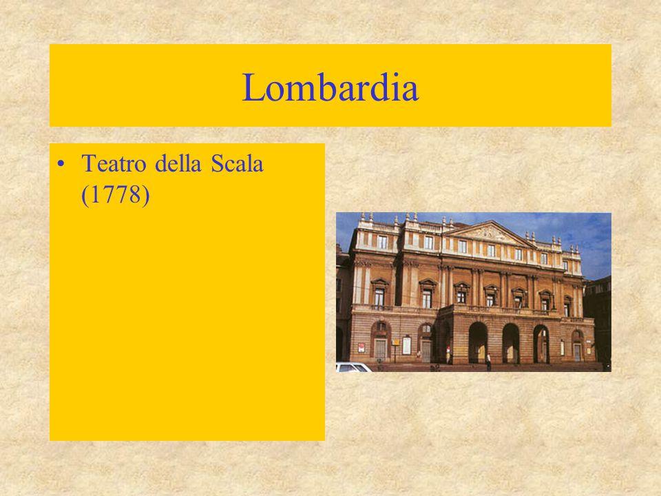 Lombardia Teatro della Scala (1778)
