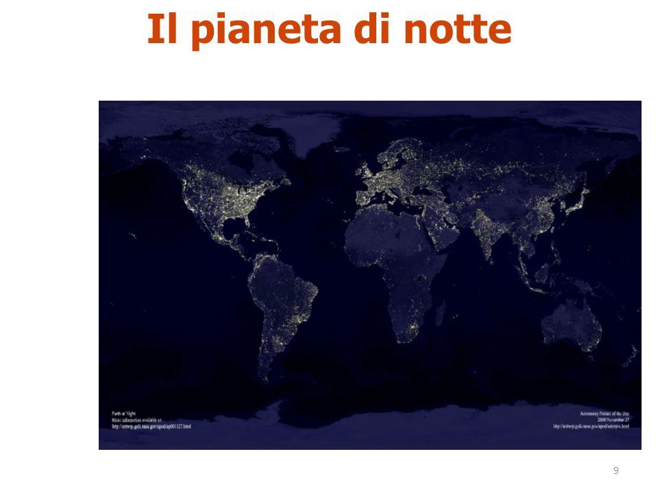 9 Il pianeta di notte