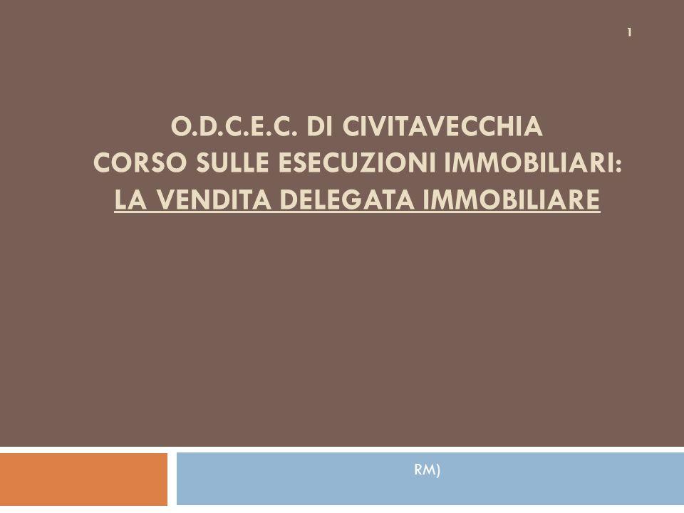 2.a – segue Emissione del Decreto di trasferimento 22  premesso che il D.T.