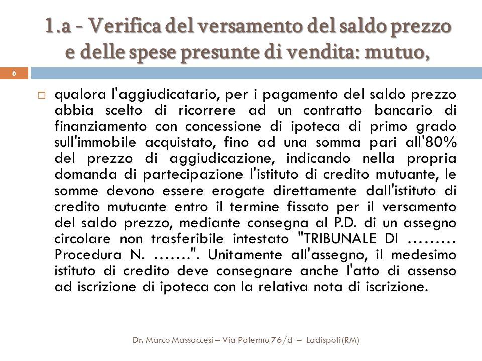 segue Facsimile di Decreto di trasferimento Dr.