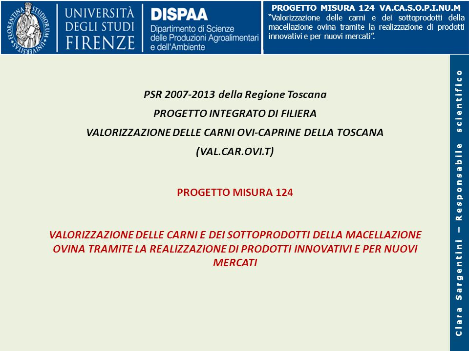 ITALIA - ANDAMENTO DEI PREZZI MEDI ALL'INGROSSO PER PRODOTTO da dicembre 2013 a gennaio 2015 Fonte: www.ismeaservizi.it
