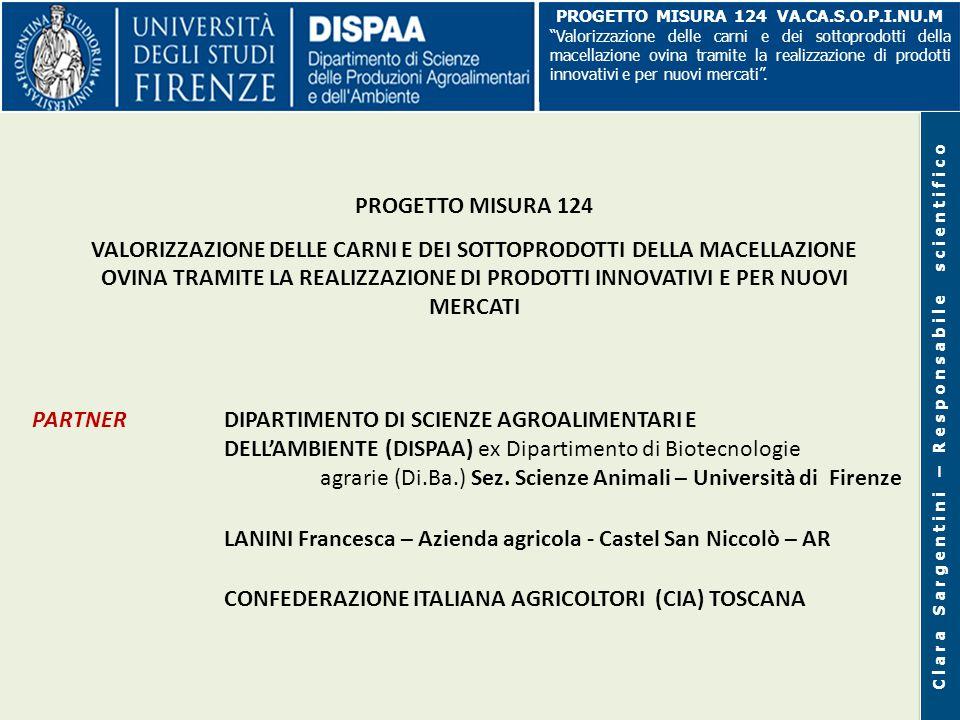 TOSCANA - CAPI OVINI E CAPRINI MACELLATI IN TOSCANA (ISTAT, 2010) Agnelli Agnelloni e castrati Pecore e montoni Totale capi n.