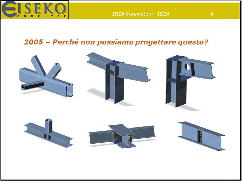 4 2005 – Perché non possiamo progettare questo? IDEA Connection - IDEA