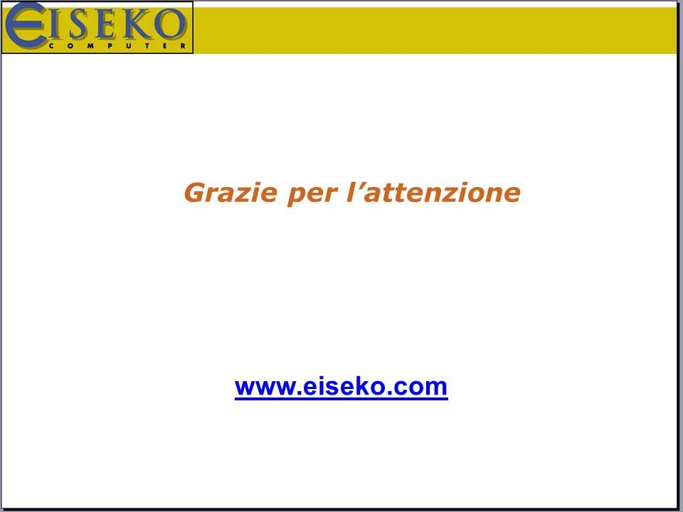 Grazie per l'attenzione www.eiseko.com