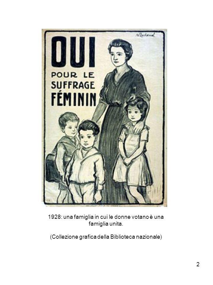 2 1928: una famiglia in cui le donne votano è una famiglia unita.