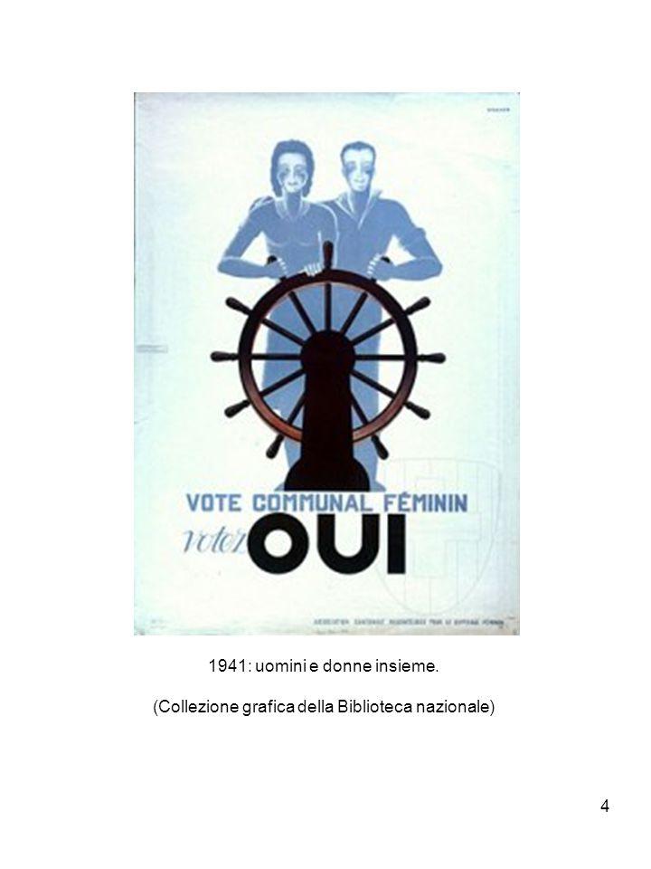 4 1941: uomini e donne insieme. (Collezione grafica della Biblioteca nazionale)