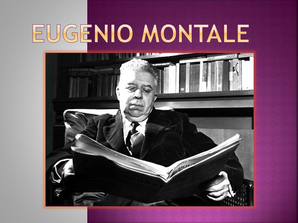 Montale è legato all'ambiente culturale gobettiano e conosce i maggiori critici e letterati che ruotano intorno a questa specie di scuola di pensiero.