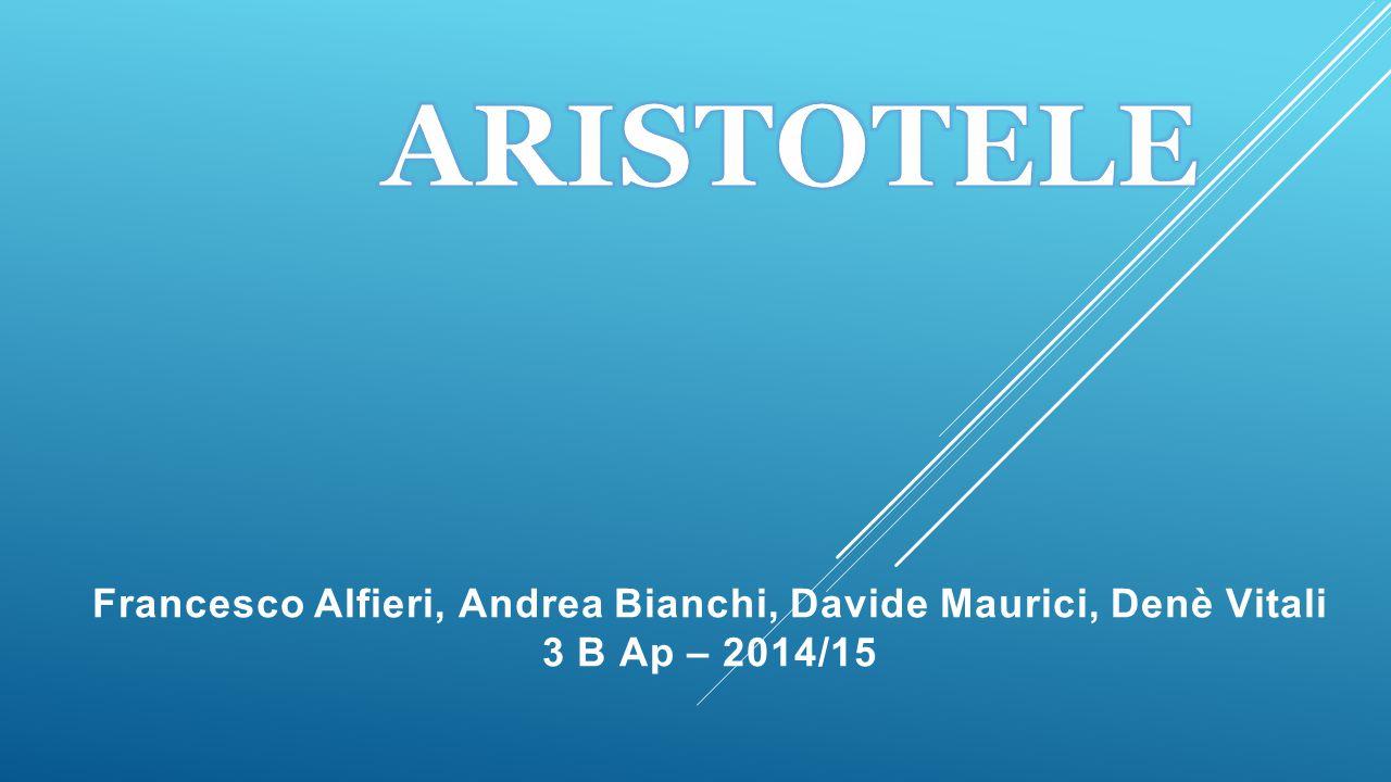 Francesco Alfieri, Andrea Bianchi, Davide Maurici, Denè Vitali 3 B Ap – 2014/15