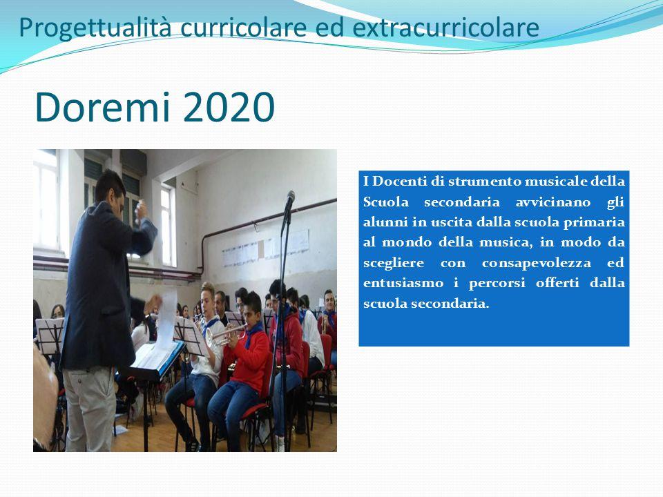 Doremi 2020 I Docenti di strumento musicale della Scuola secondaria avvicinano gli alunni in uscita dalla scuola primaria al mondo della musica, in mo