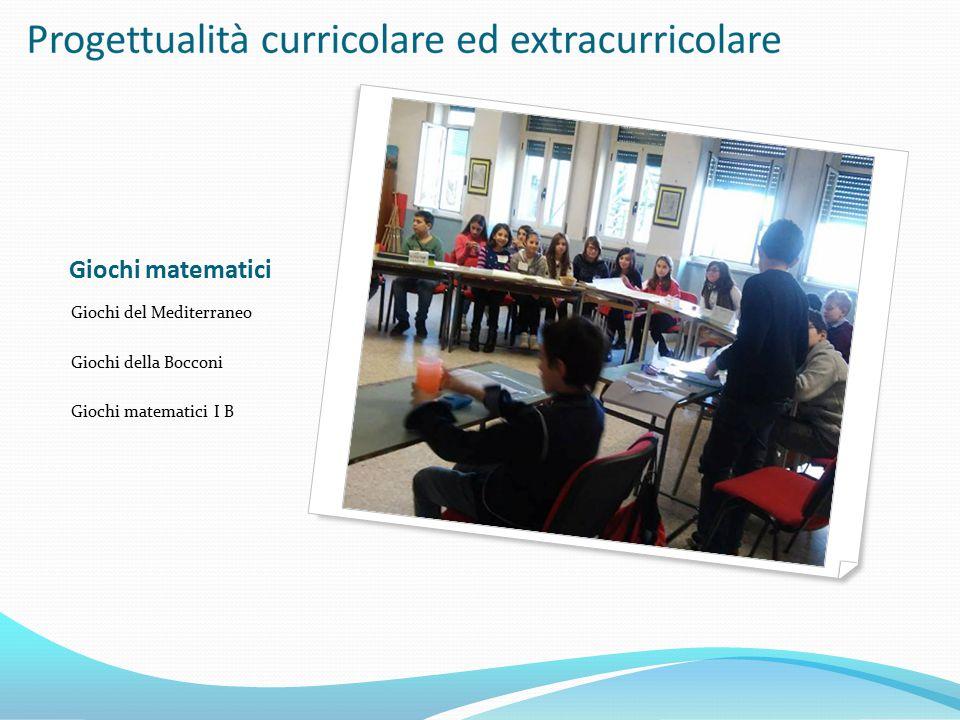 Giochi matematici Giochi del Mediterraneo Giochi della Bocconi Giochi matematici I B