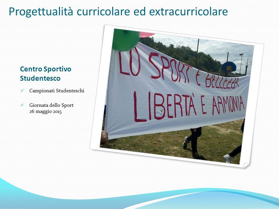 Centro Sportivo Studentesco Campionati Studenteschi Giornata dello Sport 26 maggio 2015