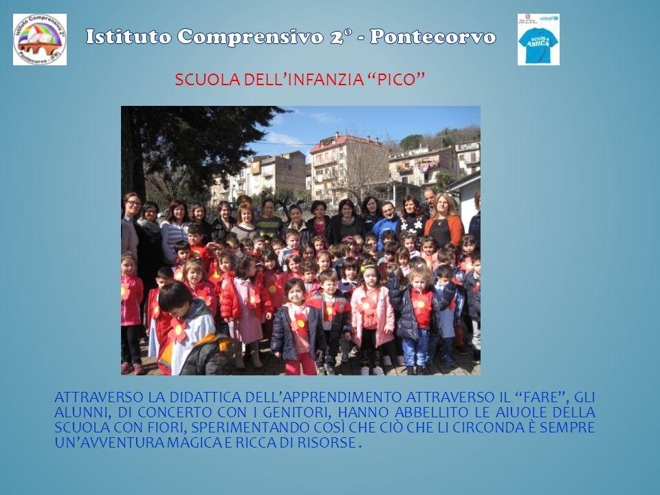 SCUOLA PRIMARIA «PAOLA SARRO» PONTECORVO Un rappresentante del Corpo Forestale ha fatto la foto con noi.