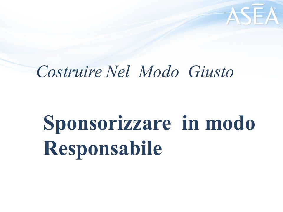 Costruire Nel Modo Giusto Sponsorizzare in modo Responsabile