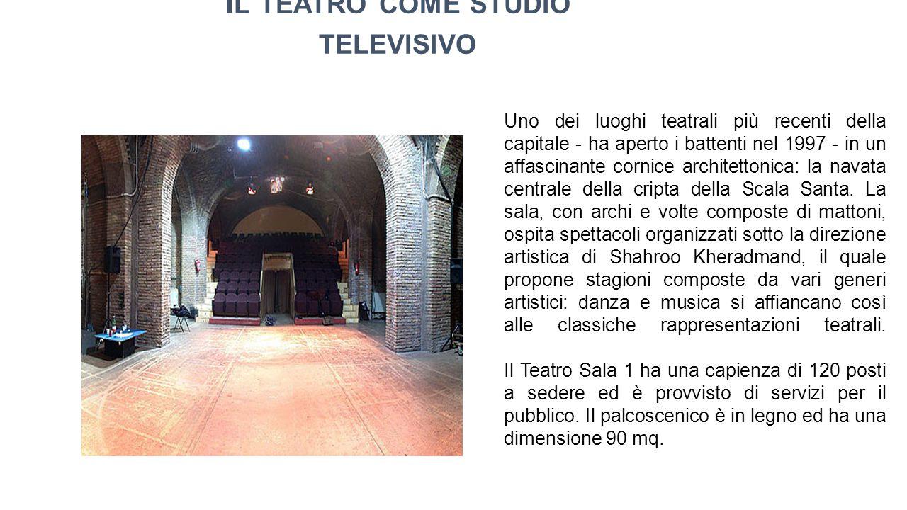 Uno dei luoghi teatrali più recenti della capitale - ha aperto i battenti nel 1997 - in un affascinante cornice architettonica: la navata centrale della cripta della Scala Santa.