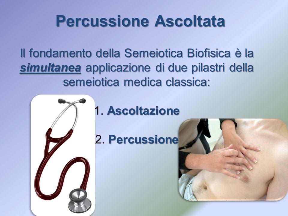 Il fondamento della Semeiotica Biofisica è la simultanea applicazione di due pilastri della semeiotica medica classica: Ascoltazione 1. Ascoltazione P